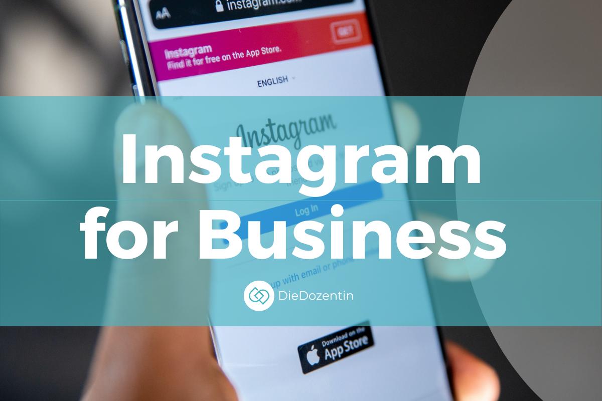 Weiterbildung Instagram for Business