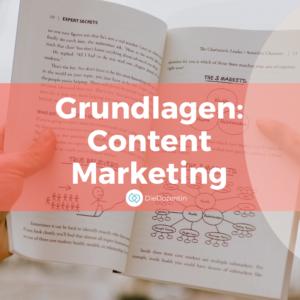 Grundlagen Content Marketing Seminar